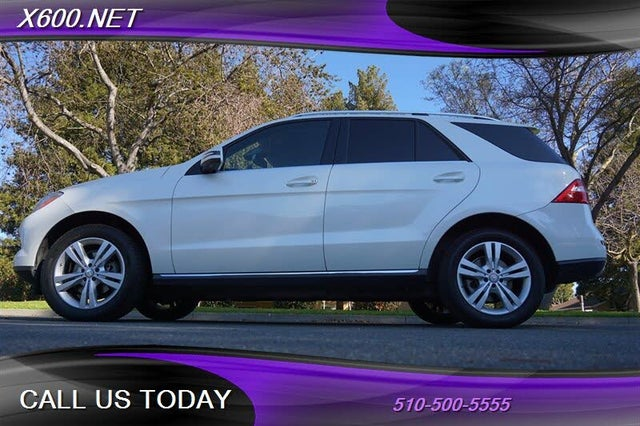 2014 Mercedes-Benz M-Class ML 350 BlueTEC 4MATIC