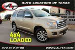 2012 Toyota Sequoia Limited FFV 4WD