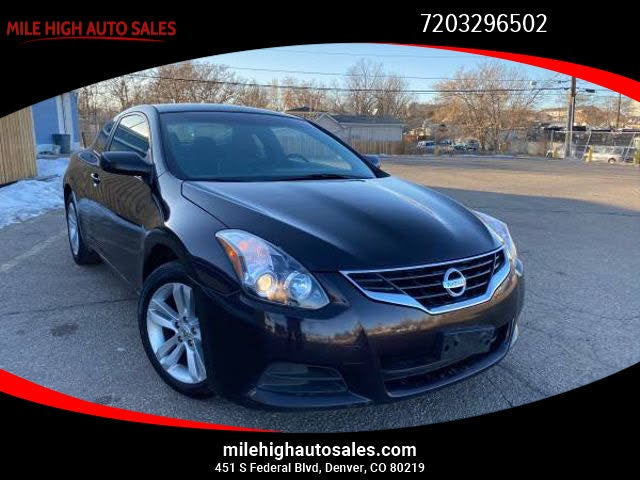 2013 Nissan Altima Coupe 2.5 S