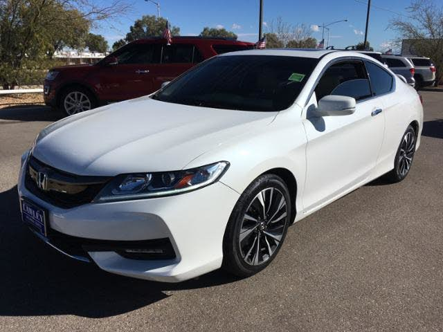 2016 Honda Accord Coupe EX-L with Honda Sensing