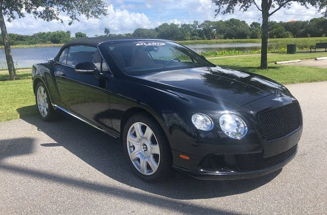 2013 Bentley Continental GTC W12 AWD
