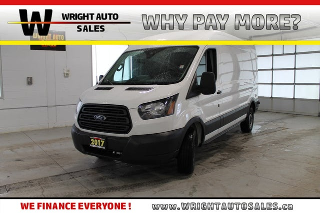 2017 Ford Transit Cargo 250 3dr LWB Medium Roof Cargo Van with Sliding Passenger Side Door