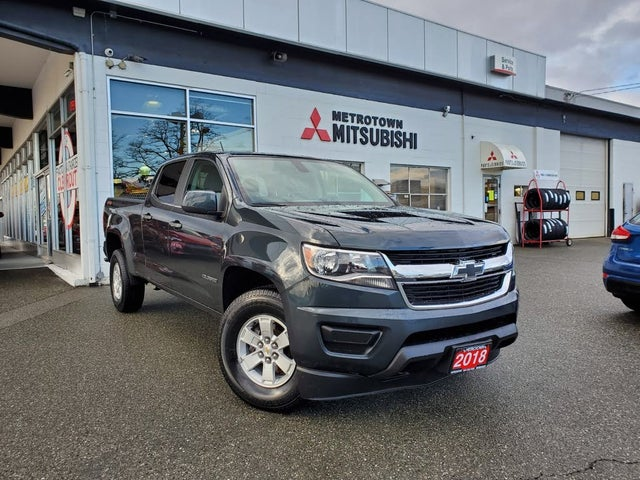 2018 Chevrolet Colorado Work Truck Crew Cab 4WD