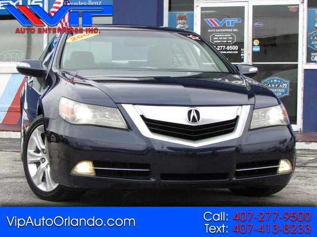 2009 Acura RL SH-AWD with CMBS