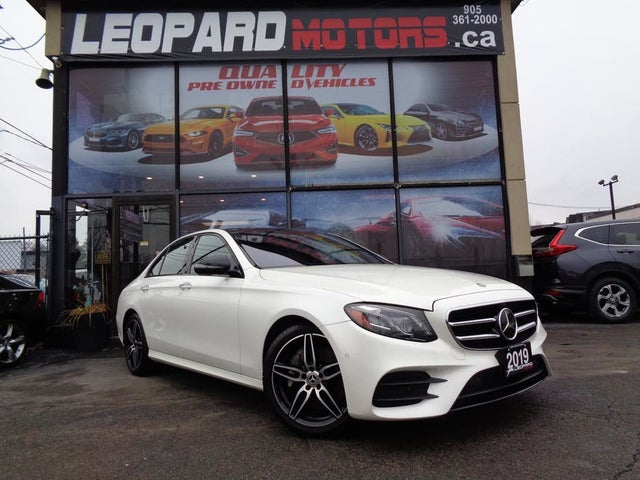 2019 Mercedes-Benz E-Class E 450 4MATIC Sedan AWD
