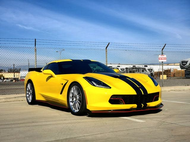 2017 Chevrolet Corvette Stingray Z51 1LT Coupe RWD
