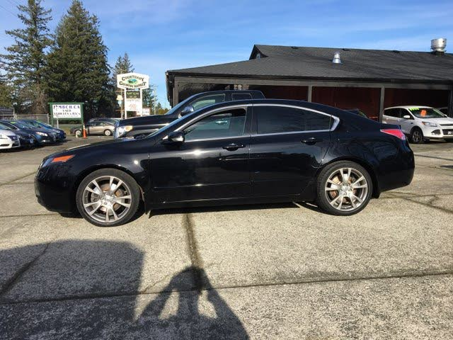2012 Acura TL SH-AWD with Elite Package