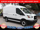 2019 Ford Transit Cargo 250 Extended High Roof LWB RWD with Dual Sliding Side Doors