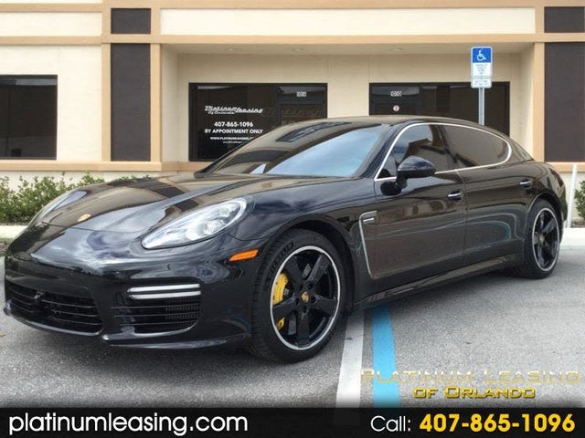 2016 Porsche Panamera Turbo Executive