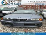 2001 BMW 3 Series 325Ci Convertible RWD