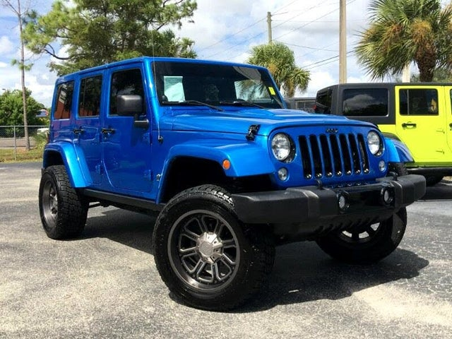 2014 Jeep Wrangler Unlimited Polar Edition 4WD