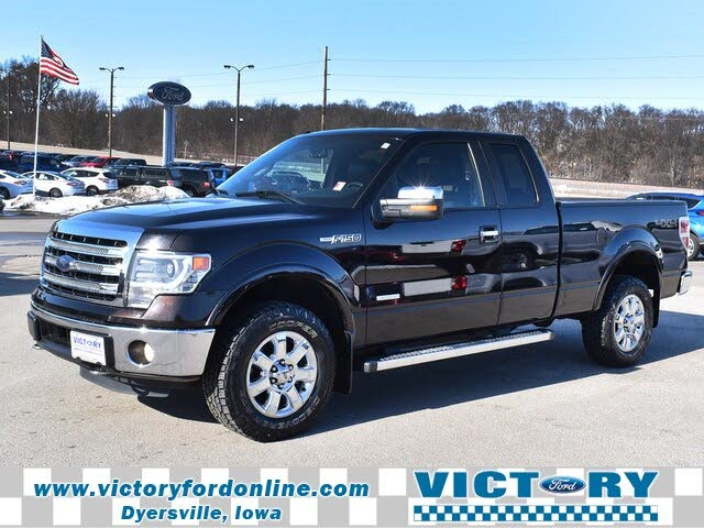 2014 Ford F-150 Lariat SuperCab LB 4WD