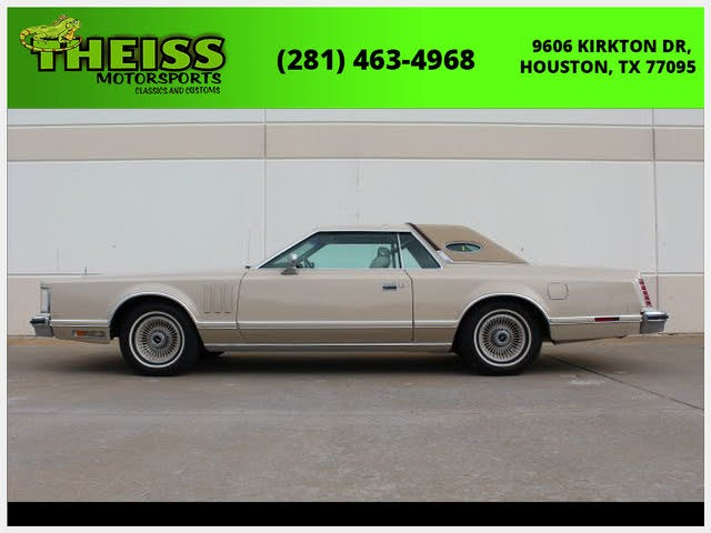 1979 Lincoln Continental Mark V Cartier