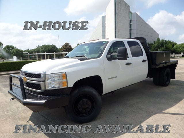 2012 Chevrolet Silverado 3500HD Chassis Work Truck Crew Cab 4WD