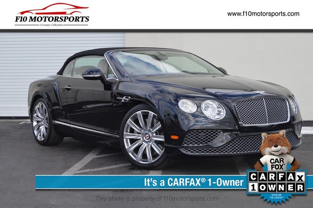 2016 Bentley Continental GTC V8 AWD