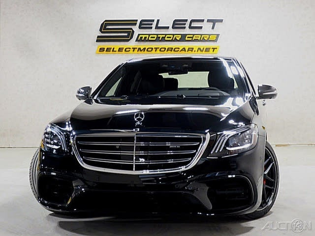 Used 2019 Mercedes-Benz S-Class S AMG 63 4MATIC AWD for ...