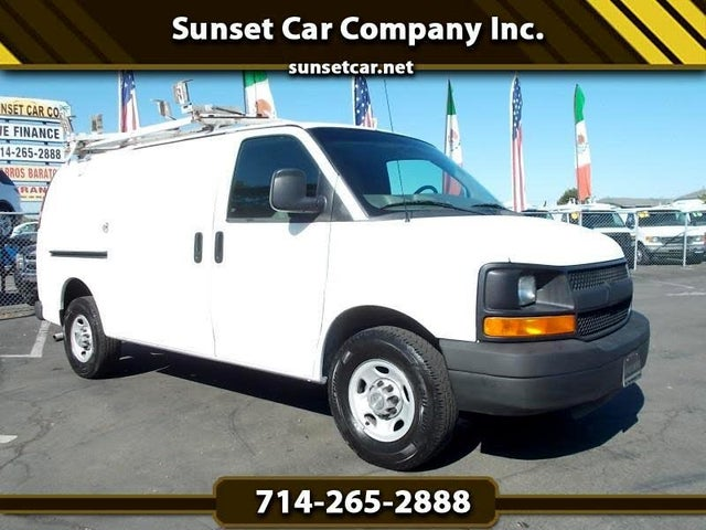 2010 Chevrolet Express Cargo 2500 RWD with Upfitter