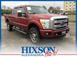 2014 Ford F-350 Super Duty Platinum Crew Cab LB 4WD