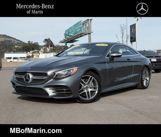 Used 2019 Mercedes-Benz S-Class Coupe S 560 4MATIC AWD For