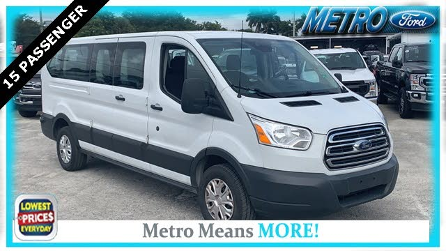 2018 Ford Transit Passenger 350 XLT Low Roof LWB RWD with 60/40 Passenger-Side Doors
