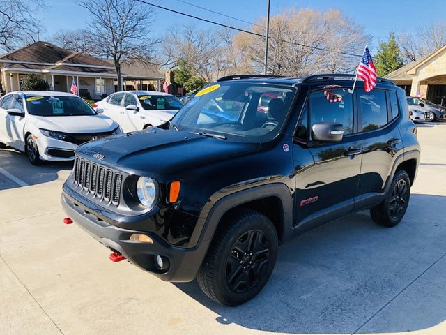 Used 2018 Jeep Renegade Trailhawk 4WD For Sale (with