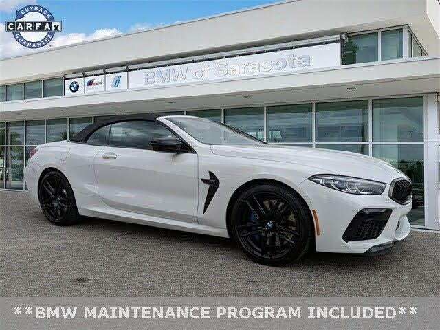 2020 Bmw M8 Competition Convertible For Sale