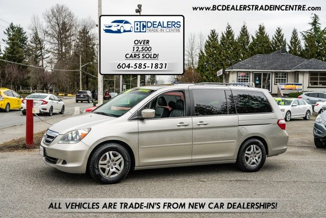 2007 Honda Odyssey EX-L FWD with DVD and Navigation