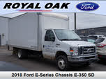 2018 Ford E-Series Chassis E-350 SD DRW Stripped RWD