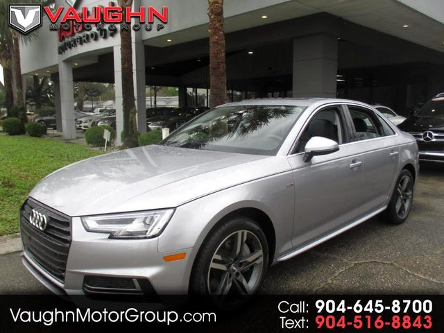 2018 Audi A4 2.0T quattro Premium Plus Sedan AWD