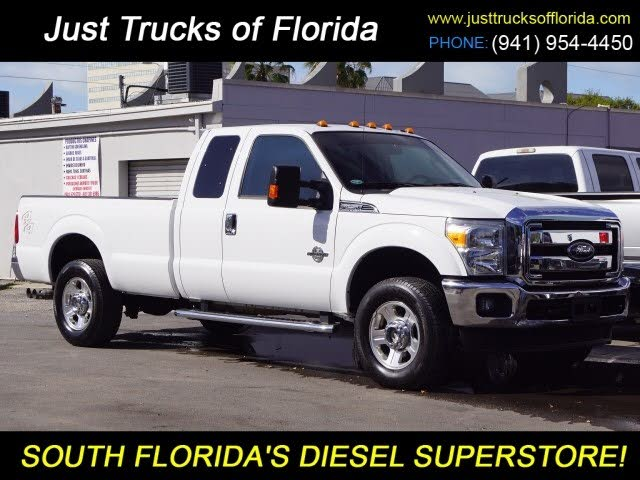 2012 Ford F-250 Super Duty Lariat SuperCab 4WD
