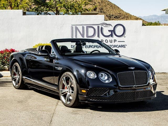 2017 Bentley Continental GTC Speed AWD