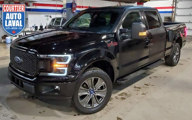 2018 Ford F-150 Lariat SuperCrew LB 4WD