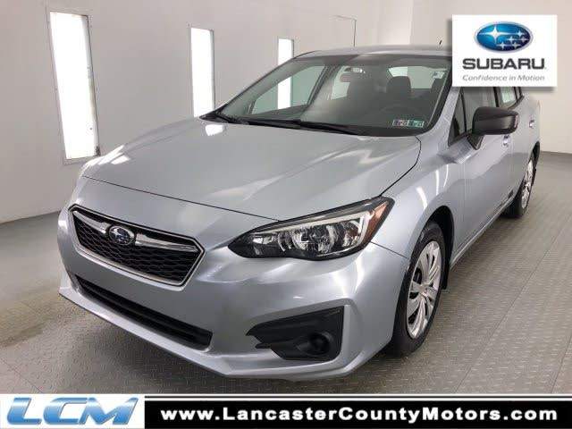 2017 Subaru Impreza 2.0i Sport-tech Sedan AWD