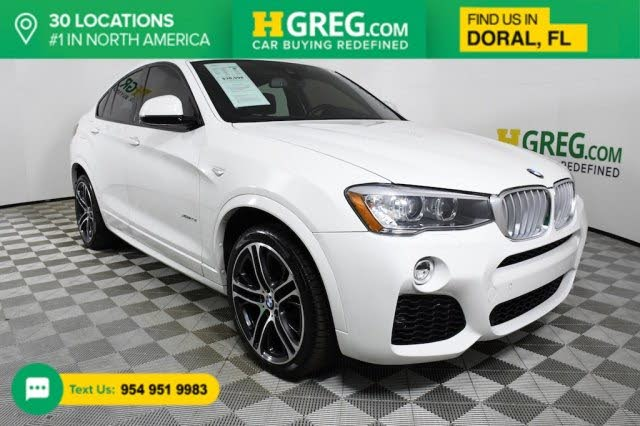 2018 BMW X4 xDrive28i AWD