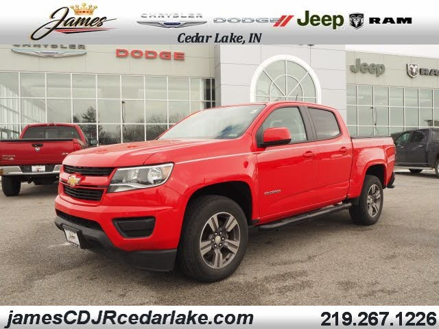 2017 Chevrolet Colorado Work Truck Crew Cab 4WD