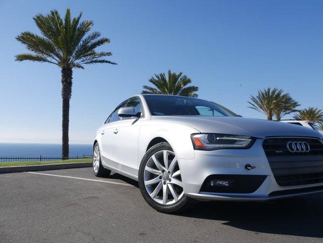 2013 Audi A4 2.0T quattro Premium Sedan Plus AWD