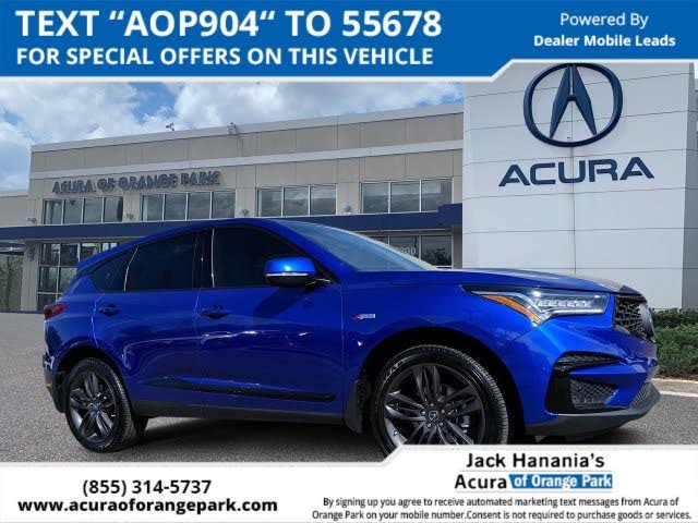 2020 Acura RDX FWD with A-Spec Package