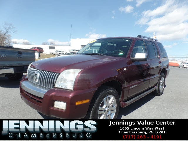 2008 Mercury Mountaineer V6 Premier AWD