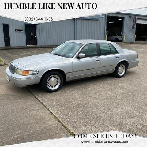 1999 Mercury Grand Marquis 4 Dr LS Sedan