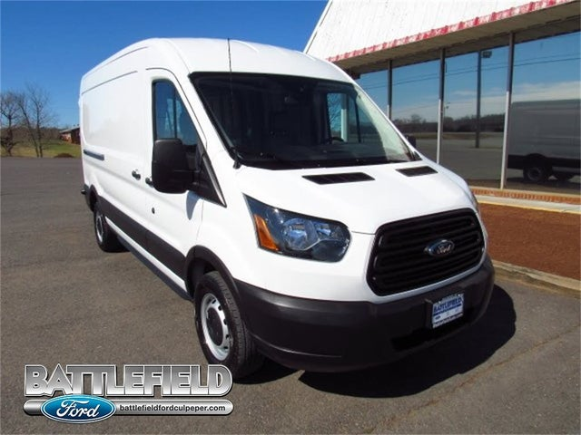 2019 Ford Transit Cargo 250 LWB RWD with Sliding Passenger-Side Door
