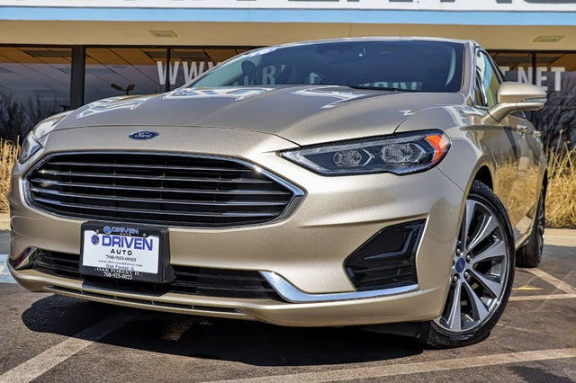 2019 Ford Fusion SEL AWD