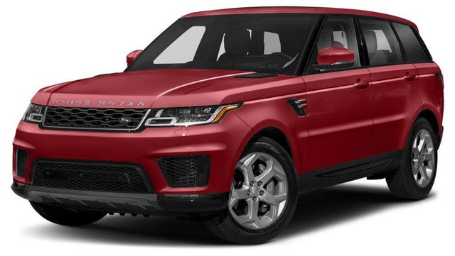 2020 Land Rover Range Rover Sport Hybrid Plug-in HSE 4WD
