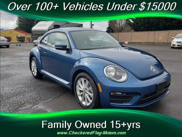 2018 Volkswagen Beetle 2.0T S Hatchback FWD with Style and Comfort Package