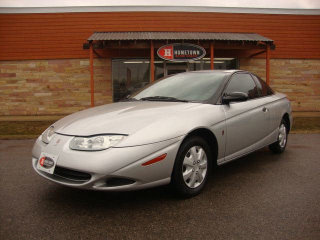2002 Saturn S-Series 3 Dr SC1 Coupe