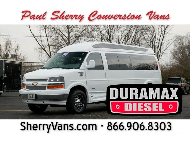 2015 Chevrolet Express 3500 2LT Extended RWD