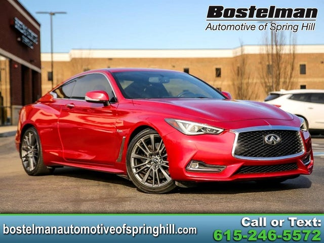 2017 INFINITI Q60 Red Sport 400 Coupe RWD