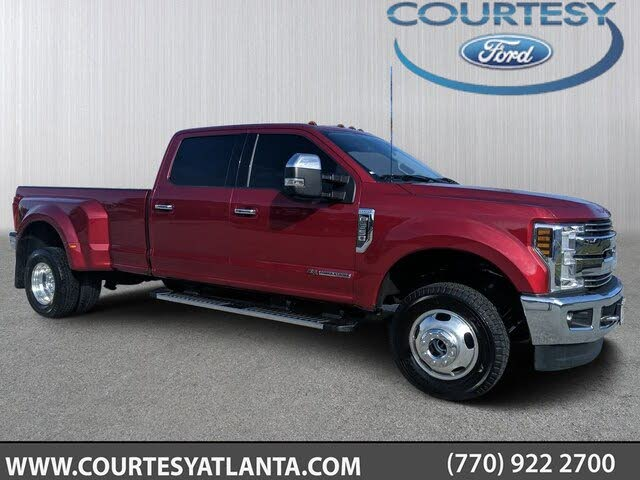 2018 Ford F-350 Super Duty Lariat SuperCab LB DRW 4WD