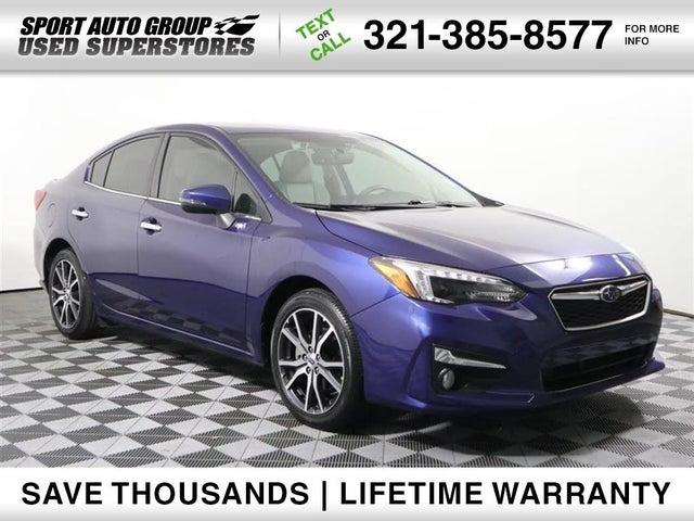 2018 Subaru Impreza 2.0i Limited Sedan AWD