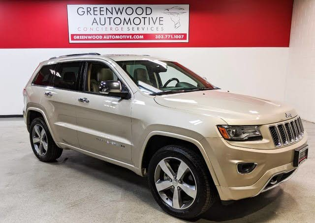 Jeep Grand Cherokee Overland For Sale Denver