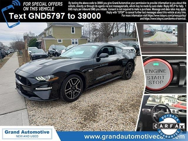 2018 Ford Mustang GT Premium Coupe RWD